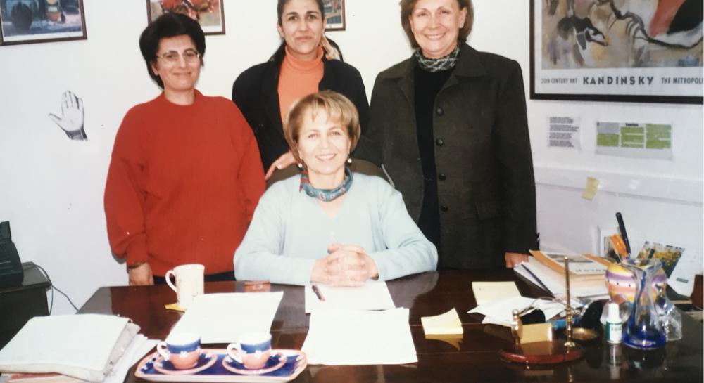 Ayla Karadeniz'in yazı işleri müdürü olduktan sonraki ilk ekibi