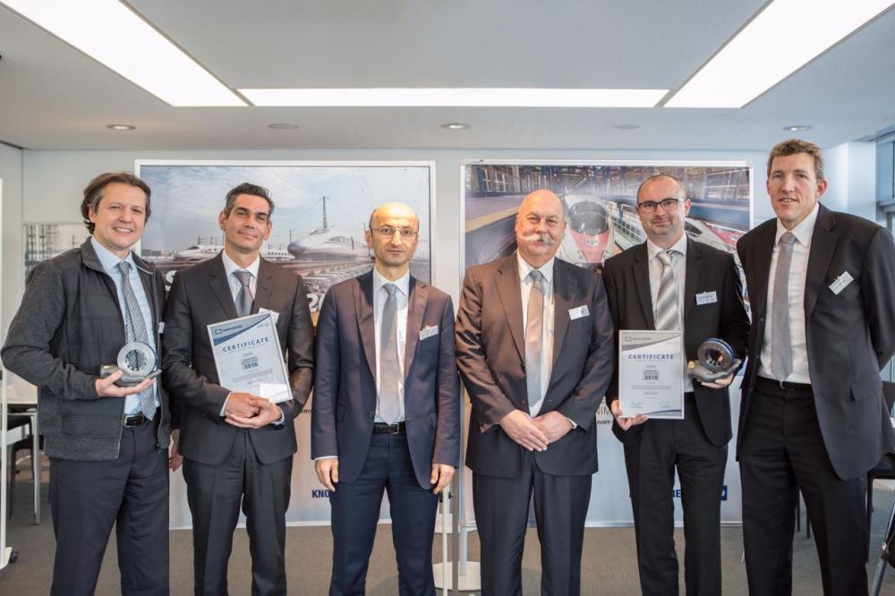 Knorr -Bremse Ödül Töreni 2016