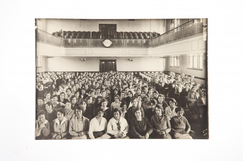 Scott Arsivi-Amerikan Kız Koleji Öğrencİleri 1921