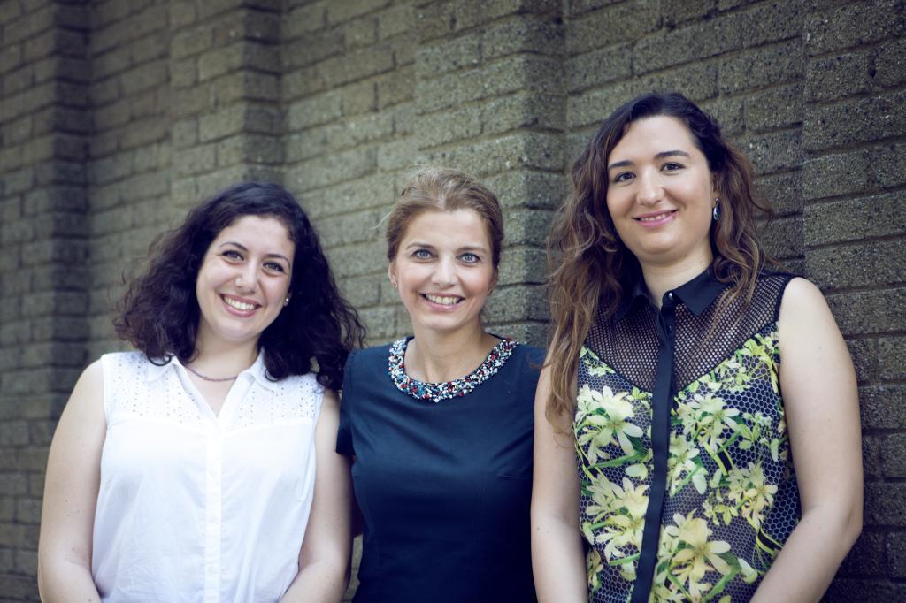 Genç araştırmacılar, Boğaziçi Üniversitesi Öğretim Üyesi Doç. Dr. Nilgün Cılız ile birlikte