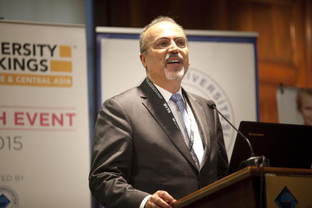 Boğaziçi Üniversitesi/ Uluslararası İlişkilerden Sorumlu Akademik Koordinatör Prof. Dr. Taner Bilgiç