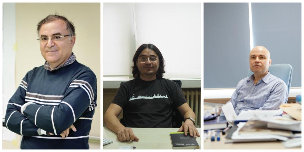 Prof. Dr. Levent Akın, Prof. Dr. Ethem Alpaydın, Prof. Dr. Cem Say