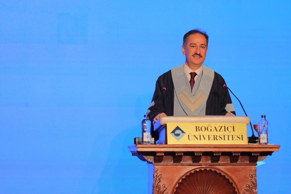 Boğaziçi Üniversitesi Rektörü Prof. Dr. Mehmet Naci İnci