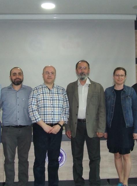 Tufan Turp, Levent Kurnaz, Murat Türkeş, Nazan An (soldan sağa)