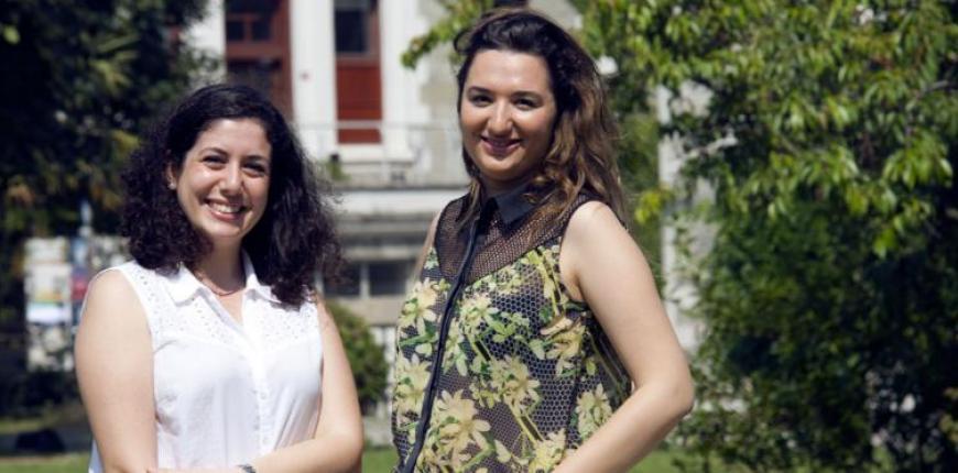Araştırmacılar Fulya Kundaklar (sağda)ve Şila Temizel (solda)