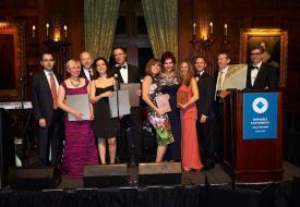 New York'un seçkin kurumlarından biri olan The University Club'da düzenlenen gala yemeği ABD'nin dört bir köşesinde bulunan 200 kadar Boğaziçi Üniversitesi mezununu buluşturdu