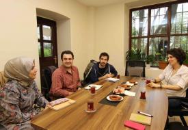 Boğaziçi'nden Haberler ekibi gazeteci Özge Özdemir'i ağırladı