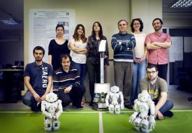 Prof. Dr. Levent Akın ve ekibi