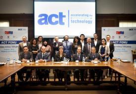 ACT'ın destekleyeceği projeler Boğaziçi Üniversitesi liderliğinde Türkiye'den 34 üniversitenin yer aldığı bir Üniversite Kurulu tarafından belirlenecek.