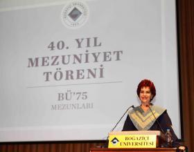Rektör Gülay Barbarosoğlu