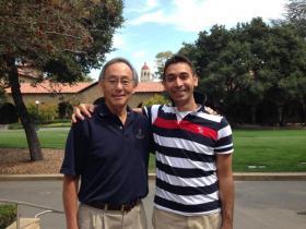 Nobel Ödüllü fizikçi ve ABD Enerji Bakanı Steven Chu ile ...