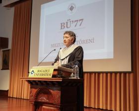 Boğaziçi Üniversitesi Rektörü Mehmed Özkan