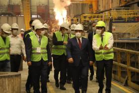 Bakan Mustafa Varank'ın tesisi ziyareti, Temmuz 2020