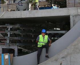 Rıfat Özalp, Avrasya Tüneli inşaatı